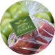 Kwik Lok Label on Apple Bag
